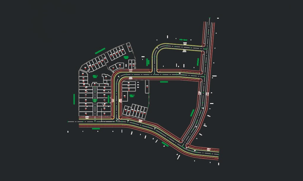 Large scale residential subdivision – Greenfield
